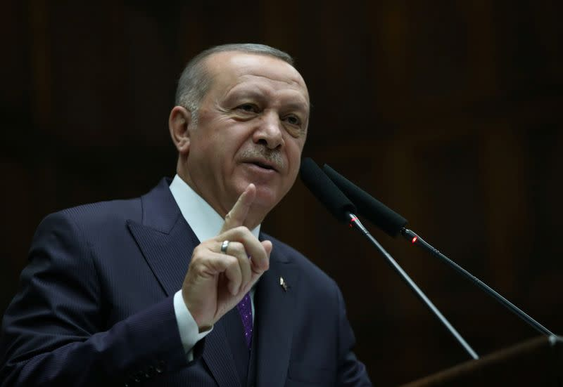 Turkey will hit Syrian govt forces anywhere if troops hurt - Erdogan