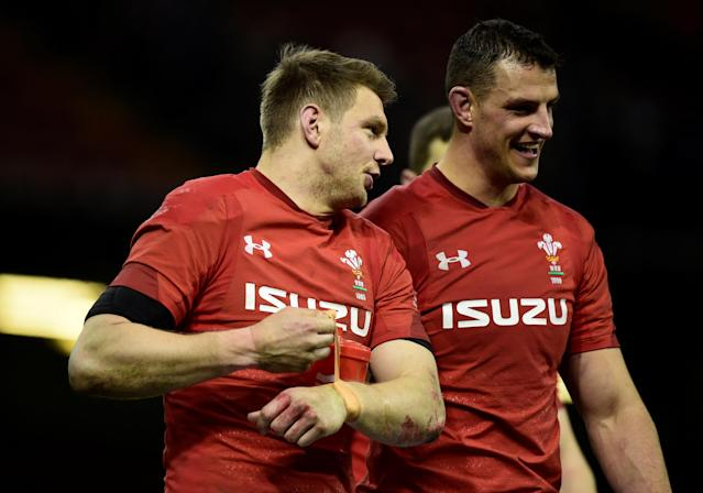Rugby Union - Six Nations Championship - Wales vs France - Principality Stadium, Cardiff, Britain - March 17, 2018 Wales' Dan Biggar celebrates after the match REUTERS/Rebecca Naden