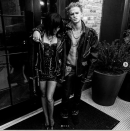 <p>As Perri Lister and Billy Idol.</p>