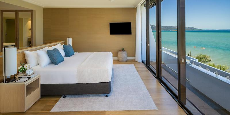 The view from the Intercontinental Hayman Island Resort
