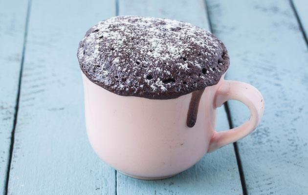 Amazing mug cakes, if they don't explode. Photo: Getty
