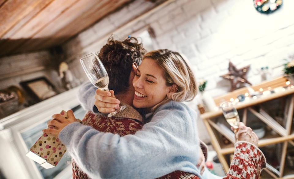 Just because your love language is receiving gifts, doesn't mean you're materialistic or superficial. (Photo: Aja Koska via Getty Images)