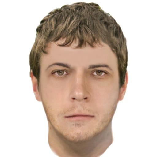 Computer generated image of Melbourne park sexual assault attacker
