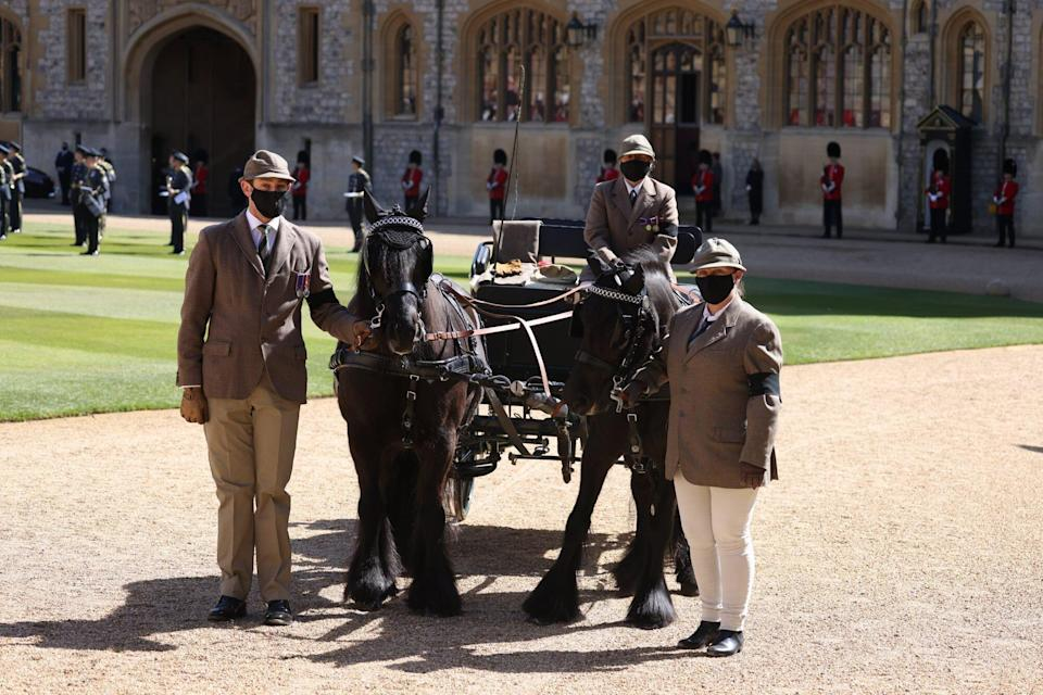 The Funeral Of Prince Philip, Duke Of Edinburgh Is Held In Windsor Prince Philip's Carriage