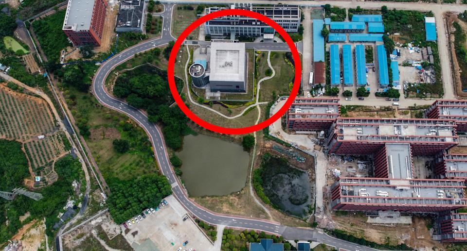 The P4 lab at the Wuhan Institute of Virology is at the centre of accusations from the US Covid-19 leaked from the site. Source: Getty