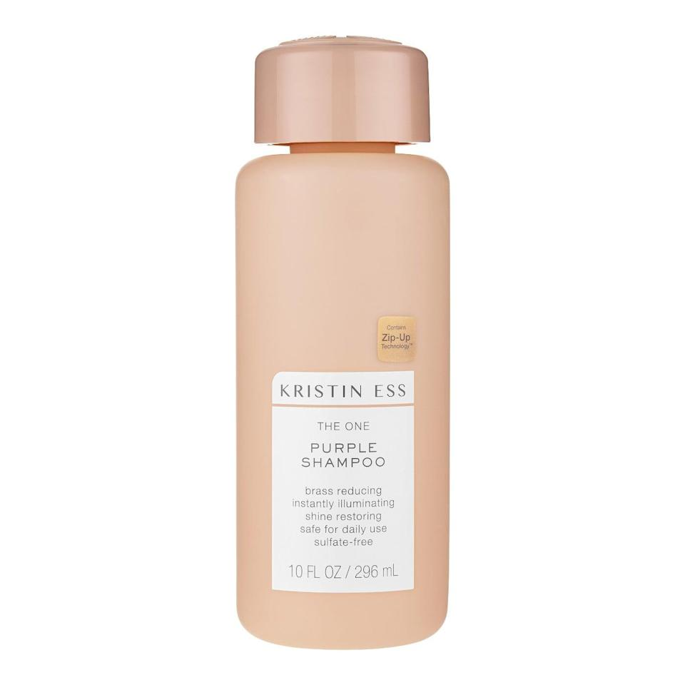 <p>Celebrity hairstylist Kristen Ess isn't wrong - this shampoo is <span>The One Purple Shampoo</span> ($12). It will leave your hair with long-lasting shine and vibrancy.</p>