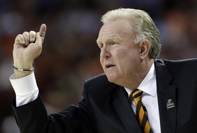 Pacific head coach Bob Thomason reacts during the first half of a second-round game of the NCAA college basketball tournament against the Miami Friday, March 22, 2013, in Austin, Texas. (AP Photo/David J. Phillip)