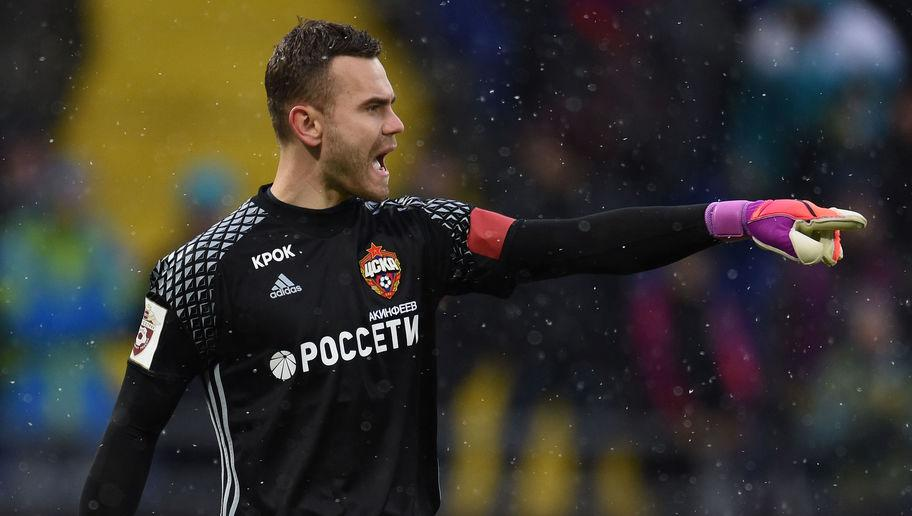 <p><strong>Age</strong>: 31</p> <p><strong>Clubs</strong>: CSKA Moscow (Russia)</p> <br /><p>CSKA and Russia's goalkeeper is one of the romantics. </p> <br /><p>Raised and trained in the academy of the CSKA, he grew to be a pretty impressive goalkeeper and vowed to never leave his club. </p> <br /><p>At one point, he was one of the most valued goalkeepers in the European market, with offers from some big clubs in the top five leagues. But Igor tuck to his word and never parted from CSKA. This kind of love story is cruelly missing from modern football. </p>
