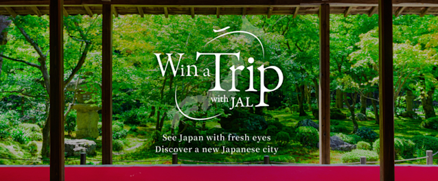 JAL希望外國旅客能藉由「Win a Trip with JAL」探索日本。(翻攝自Win a Trip with JAL官網)