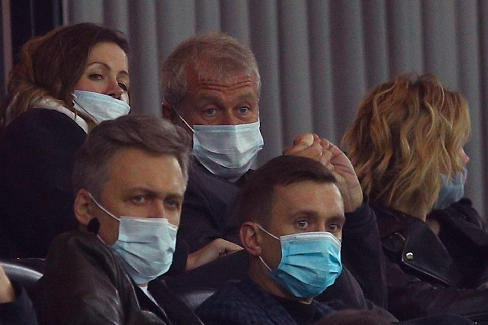 Roman Abramovich will have been pleased with his latest investments as he watched Chelsea beat Krasnodar (Chelsea FC via Getty Images)