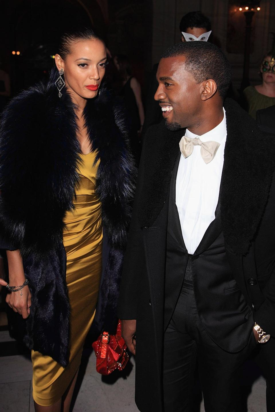 """<p>For a few months toward the end of 2010, Kanye and model Selita Ebanks were rumored to have hooked up. The former Victoria's Secret Angel model is the star of his music video for """"Runaway,"""" and they were seen at Paris Fashion Week together and taking in a tennis match at the US Open.</p>"""