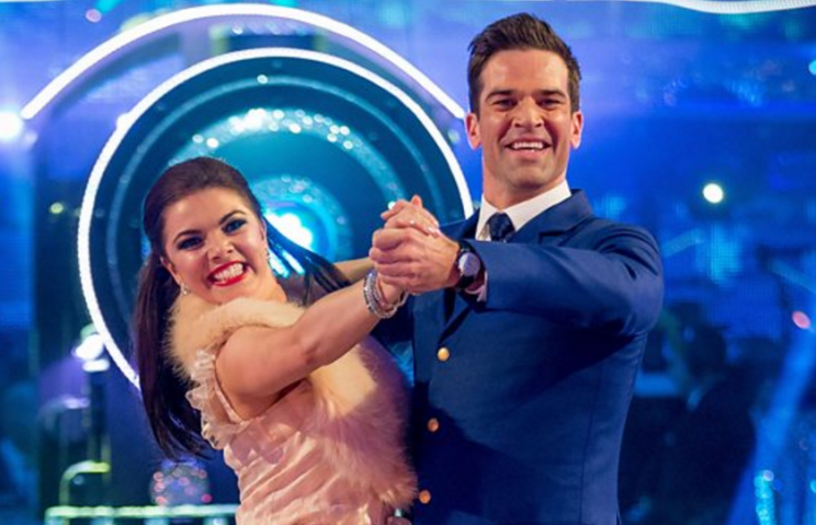 Gethin & Chloe dance the quickstep on Strictly Come Dancing