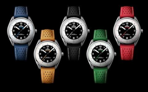 Omega Seamaster Limited Edition for the Winter Olympics in Pyeongchang - Credit: Courtesy of Omega Watches