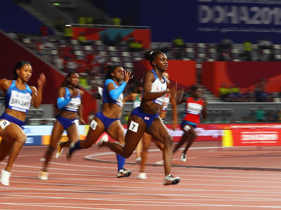 Dina Asher-Smith wins the 200m final at the 2019 World Athletics Championships (Getty Images)