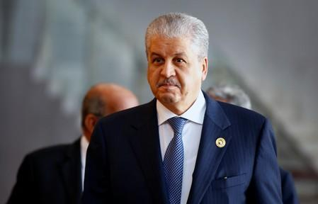 Algerian Prime Minister Abdelmalek Sellal arrives for the 28th Ordinary Session of the Assembly of the Heads of State and the Government of the African Union in Ethiopia's capital Addis Ababa