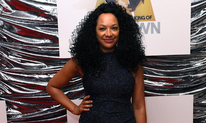 Kanya King photographed on the red carpet