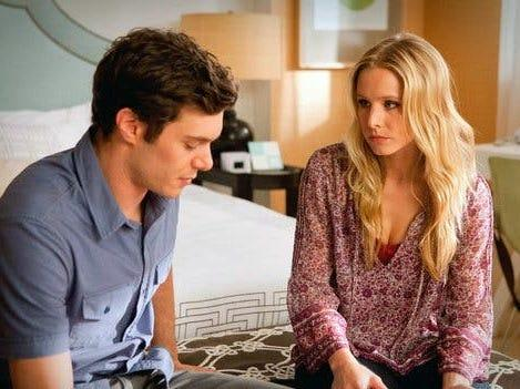 "Adam Brody and Kristen Bell played ex-lovers in ""Some Girl (s)."""
