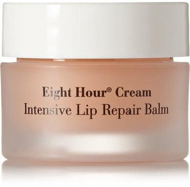 """<p>""""Fellow lip balm addict and senior Beauty editor Lauren Levinson turned me onto <span>Elizabeth Arden's Lip Repair Balm</span> ($24). The formula is thick without being goopy or sticky, making it the perfect product to apply before bed (which I do, every night). The hydrating effects last for up to 12 hours, which is apparent when I wake up on lazy Sunday mornings still rocking a light coat of protection on my lips."""" - EO</p>"""