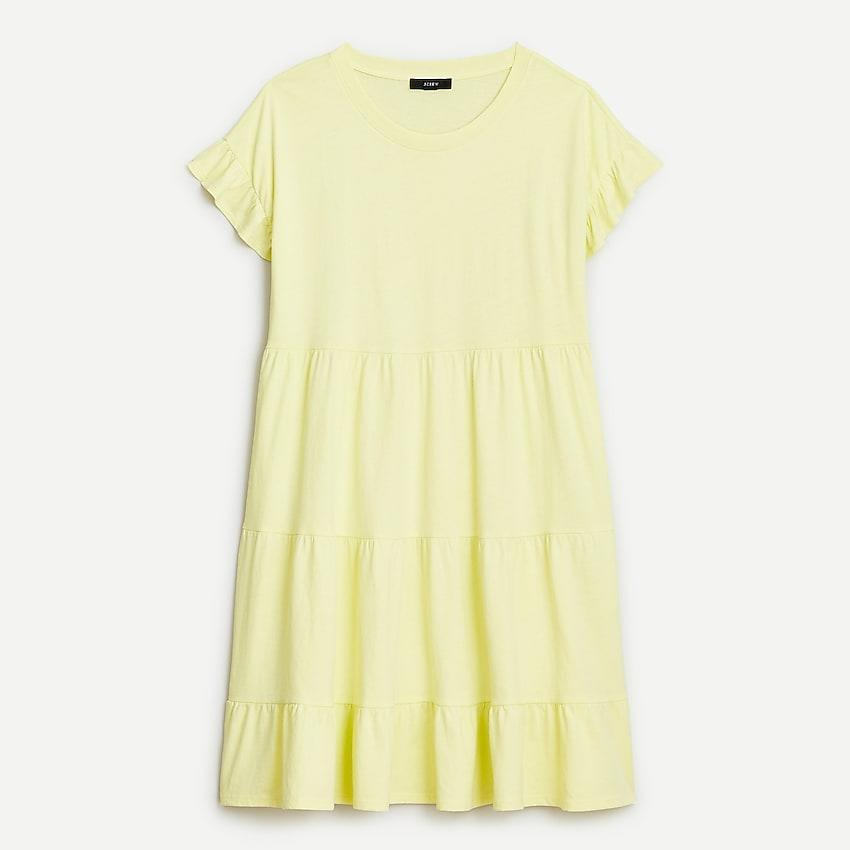 """<br><br><strong>J.Crew</strong> Tiered dress in broken-in jersey, $, available at <a href=""""https://go.skimresources.com/?id=30283X879131&url=https%3A%2F%2Fwww.jcrew.com%2Fp%2Fwomens%2Fcategories%2Fclothing%2Fdresses-and-jumpsuits%2Ftiered-dress-in-brokenin-jersey%2FAX974"""" rel=""""nofollow noopener"""" target=""""_blank"""" data-ylk=""""slk:J. Crew"""" class=""""link rapid-noclick-resp"""">J. Crew</a>"""