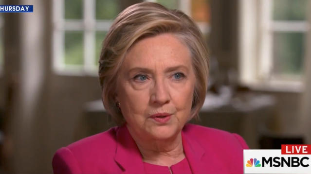 Hillary Clinton told MSNBC host Joy-Ann Reid that she believes German Chancellor Angela Merkel is the most important leader in the free world ― an extraordinary assessment by a former presidential candidate, U.S. secretary of state, U.S. senator and first lady, and a remark likely to be seen as an affront to President Donald Trump.