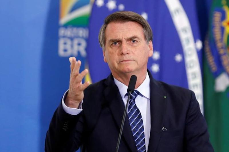 'Unnecessary' Order for Brazil's Bolsonaro to Wear a Mask Dismissed