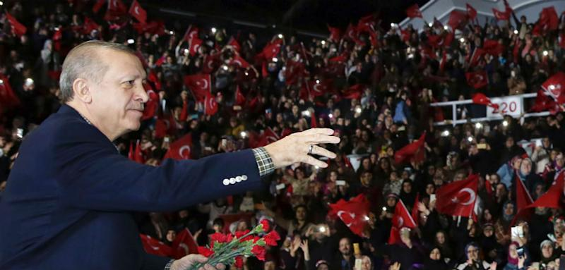 Erdogan Says Germany 'No Different' From Nazi Period