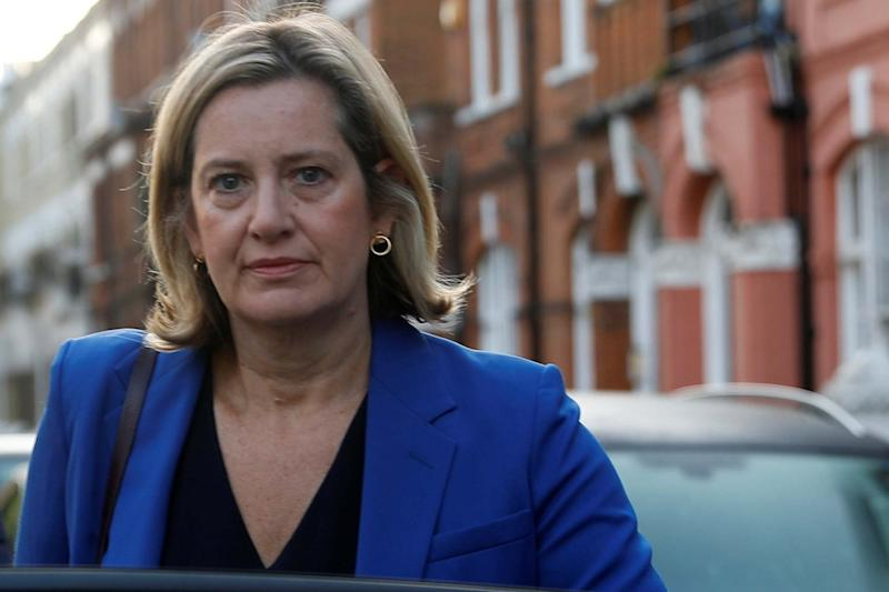 Amber Rudd has sensationally quit in protest of the PM's handling of Brexit: REUTERS