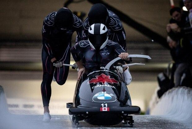 Justin Kripps' run of podiums to open World Cup bobsleigh season ends in Germany
