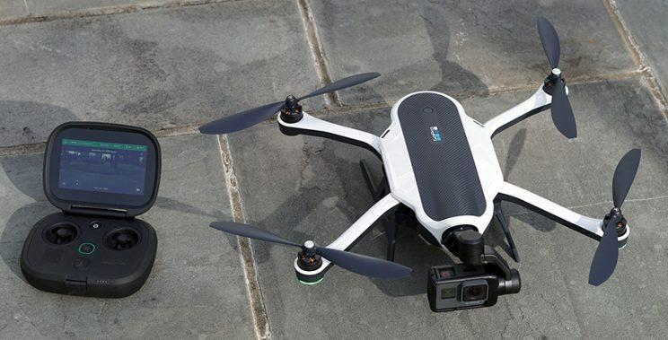 One water-bug drone, coming up!