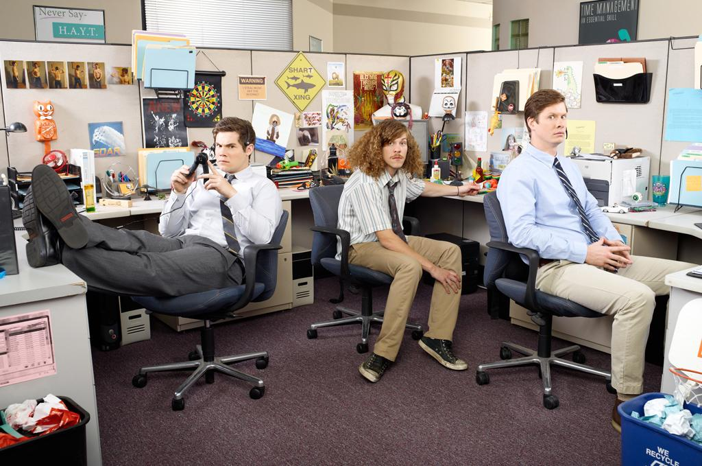 "<p><b>""Workaholics"" (Comedy Central)</b><br><br>  <b>Returns May 29</b> <br>  <br>These telemarketers work hard (sort of) and play hard (when they want to), but their idiotic slacker antics are definitely weird and wild. </p>"