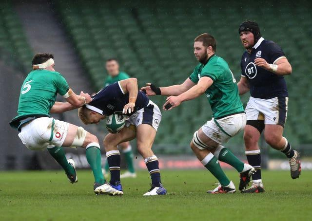 Ireland locks James Ryan, left, and Iain Henderson, right, have recently agreed new deals