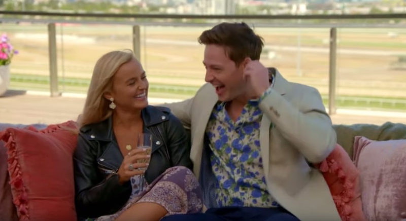 Earlier in the episode Elly enjoyed her single date with Matt in his hometown of Melbourne. Photo: Channel Ten