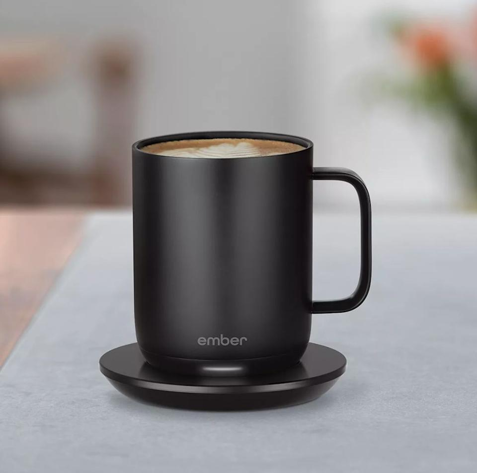"If the thought of cold brew fills them with dread, get them this temperature-controlled mug. With this mug, you can set it to the perfect degree and leave your drink hot for up to an hour. <a href=""https://fave.co/2KmVzA5"" target=""_blank"" rel=""noopener noreferrer"">Find it for $100 at Bloomingdale's</a>."