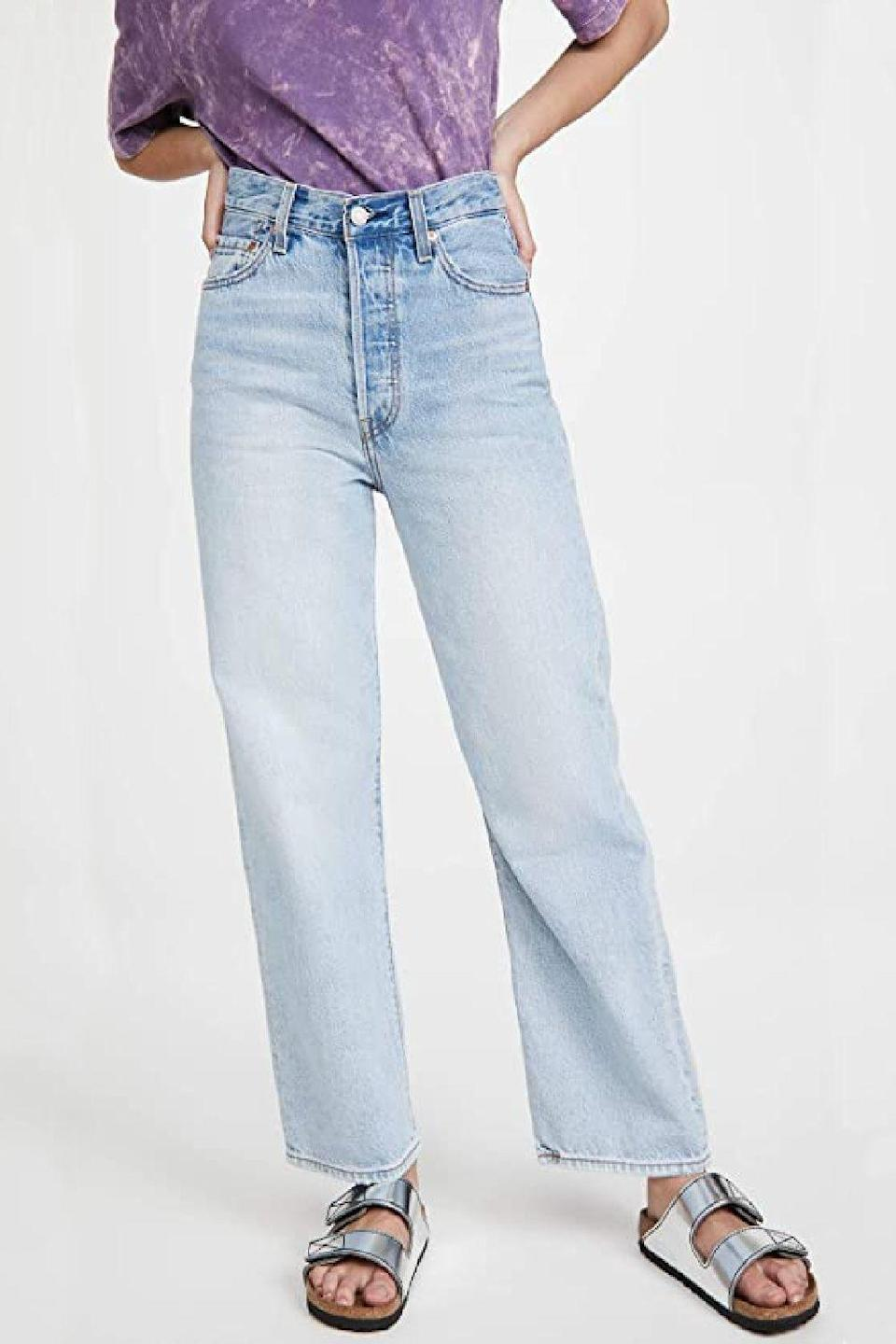 """<p><strong>Levi's</strong></p><p>amazon.com</p><p><strong>$108.00</strong></p><p><a href=""""https://www.amazon.com/dp/B08C512FN6?tag=syn-yahoo-20&ascsubtag=%5Bartid%7C10056.g.36355801%5Bsrc%7Cyahoo-us"""" rel=""""nofollow noopener"""" target=""""_blank"""" data-ylk=""""slk:Shop Now"""" class=""""link rapid-noclick-resp"""">Shop Now</a></p><p>Who doesn't love Levi's?! Whether you collect their classic denim jackets or are always adding to your ever-growing jean collection, you'll love being able to easily shop options from the clothing brand.</p>"""