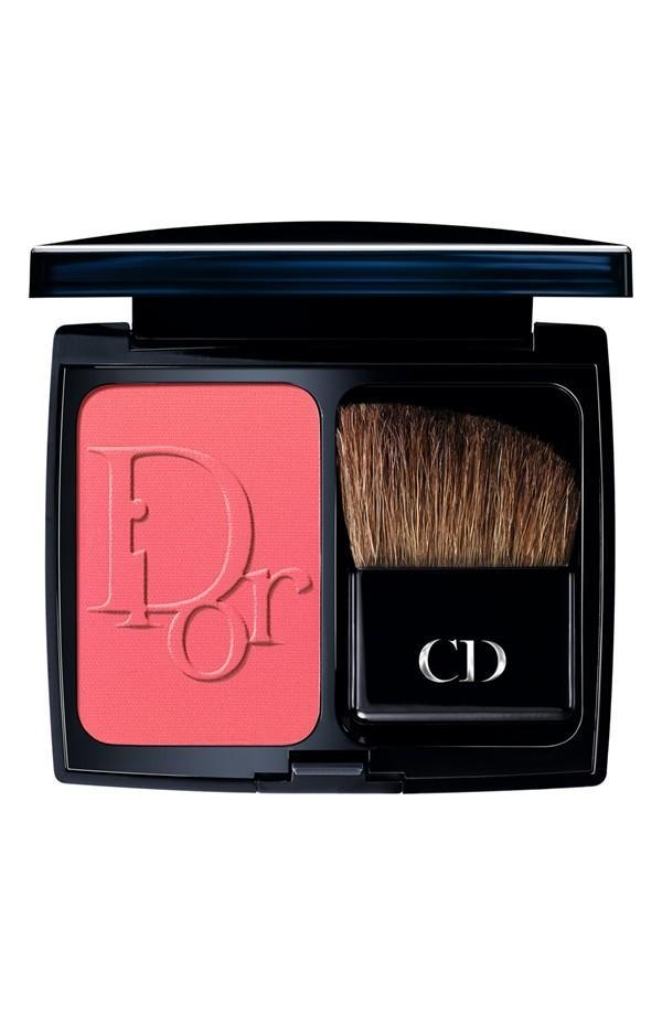 """<p>With blush, you're seeking great pigments that go on smooth and stay all day – and usually, spending a little more goes a long way. """"I can't remember a time when I didn't use NARS,"""" Packard says, who opts for the brand's cult-classic <a href=""""http://www.narscosmetics.com/USA/orgasm-blush/0607845040132.html"""" rel=""""nofollow noopener"""" target=""""_blank"""" data-ylk=""""slk:'Orgasm' shade"""" class=""""link rapid-noclick-resp"""">'Orgasm' shade</a> ($30). """"It has good pigmentation, and therefore doesn't wear off too quickly."""" Our experts love for <a href=""""http://www.sephora.com/diorblush-vibrant-colour-powder-blush-P382451?skuId=1558907"""" rel=""""nofollow noopener"""" target=""""_blank"""" data-ylk=""""slk:DiorBlush Vibrant Powder Blush"""" class=""""link rapid-noclick-resp"""">DiorBlush Vibrant Powder Blush</a> ($43, pictured left) )and <a href=""""https://jouercosmetics.com/shop-products/cheeks/mineral-powder-blush"""" rel=""""nofollow noopener"""" target=""""_blank"""" data-ylk=""""slk:Jouer Mineral Powder"""" class=""""link rapid-noclick-resp"""">Jouer Mineral Powder</a> ($32) for powder blush, and <a href=""""http://www.sephora.com/cheek-stain-P384571?skuId=1577824"""" rel=""""nofollow noopener"""" target=""""_blank"""" data-ylk=""""slk:Tarte Cheek Stain"""" class=""""link rapid-noclick-resp"""">Tarte Cheek Stain</a> ($30) and <a href=""""https://www.maccosmetics.com/product/13842/15668/Products/Makeup/Face/Blush/Cremeblend-Blush#/shade/So_Sweet%2C_So_Easy_"""" rel=""""nofollow noopener"""" target=""""_blank"""" data-ylk=""""slk:MAC Cremeblend"""" class=""""link rapid-noclick-resp"""">MAC Cremeblend</a> ($22) for cream formulas. </p>"""