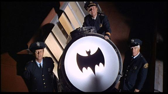 Bat signal... will be illuminated in tribute Adam West - Credit: CBS