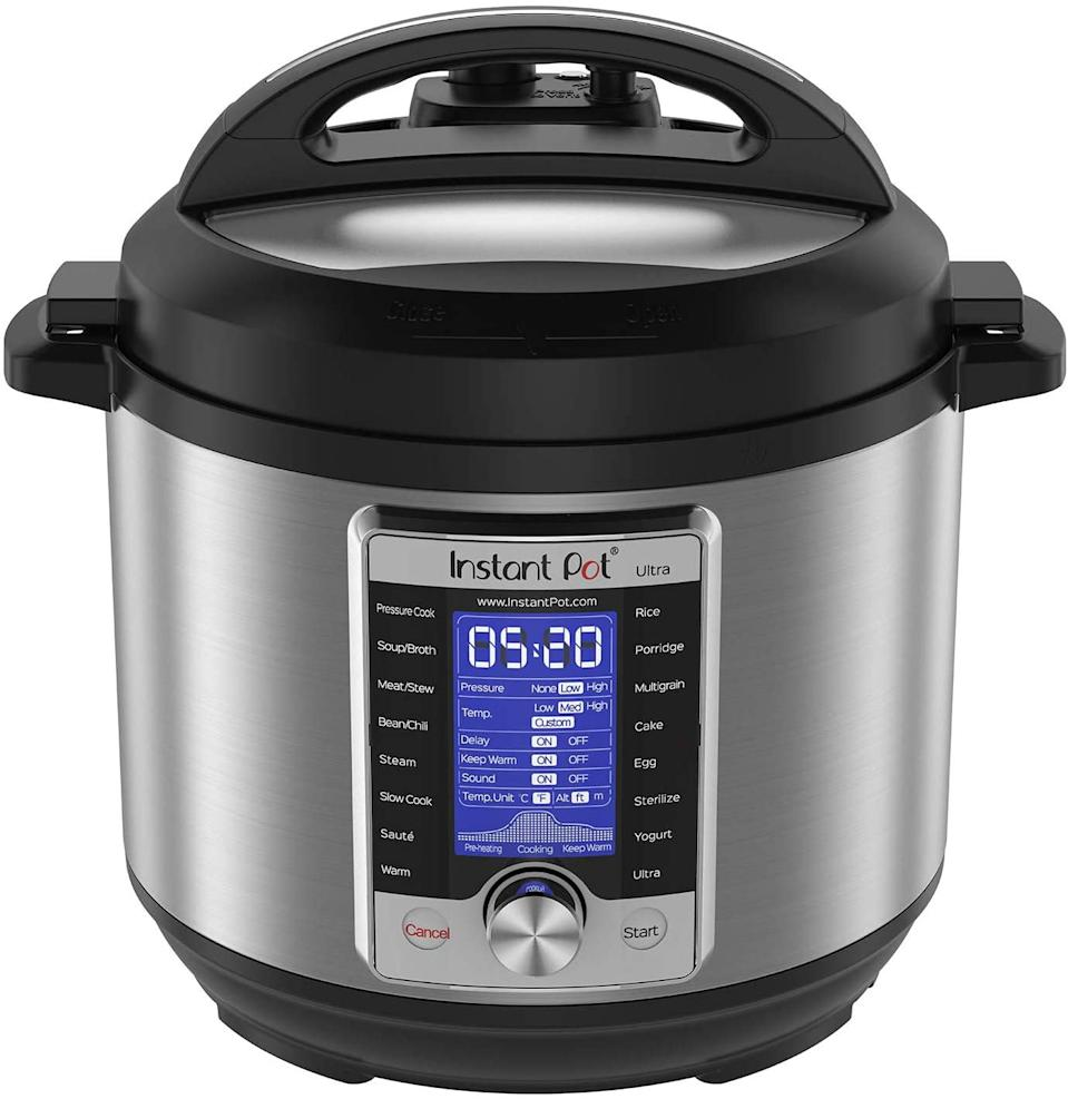 Instant Pot Ultra 10-in-1 Electric Pressure Cooker. Image via Amazon.