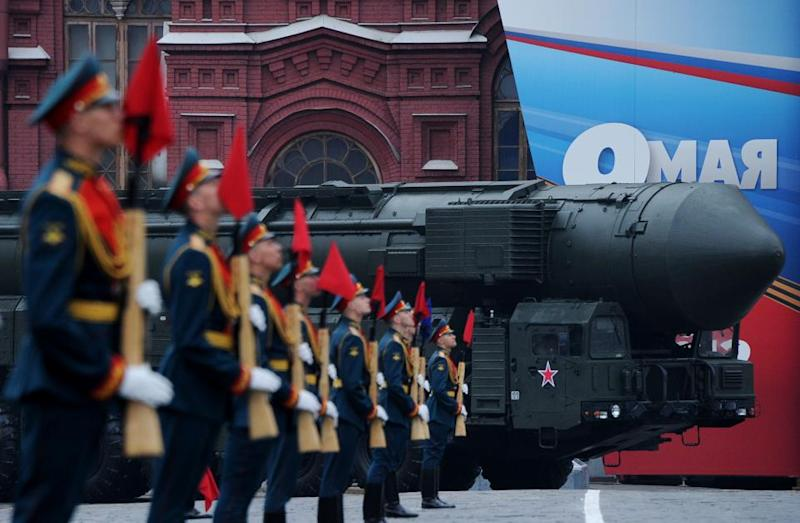 Topol ICBM in Moscow
