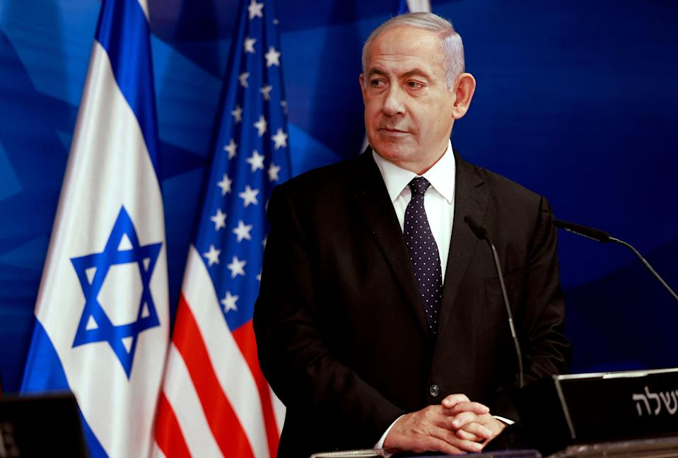 Netanyahu now holds a strange position in Israeli politics. He dominates the right, but he also divides it (AFP/Getty)