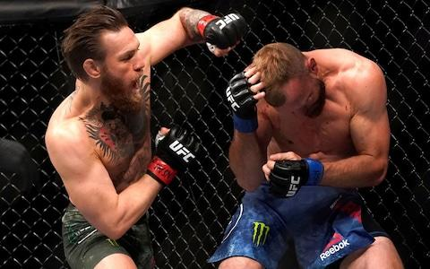 It was McGregor's first victory since November 2016 - Credit: MIKE BLAKE/REUTERS