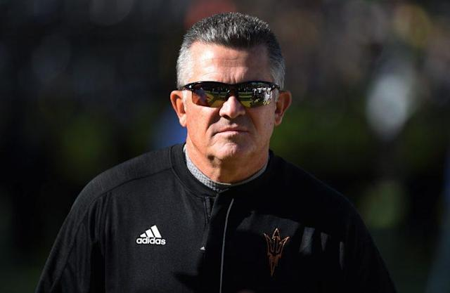 Todd Graham's team was 5-7 in 2016. (Getty)