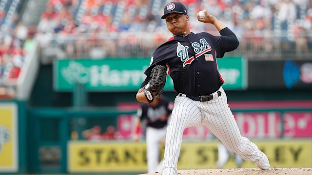 Justus Sheffield is the No. 1 pitching prospect in the Yankees organization and the No. 39 prospect in all of baseball.