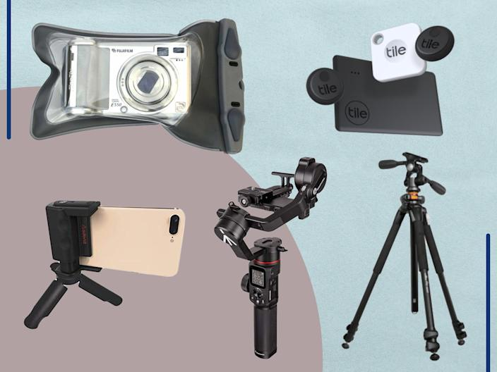 <p>From memory cards and lens wipes to waterproof camera cases and USB hubs</p> (iStock/The Independent)