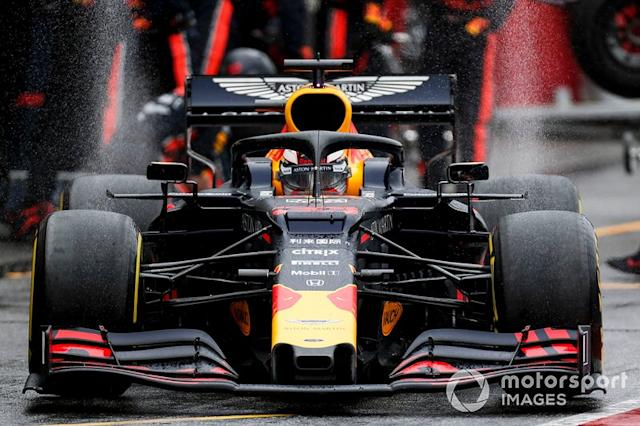 "Hockenheim: Max Verstappen (Red Bull) <span class=""copyright"">Joe Portlock / LAT Images</span>"