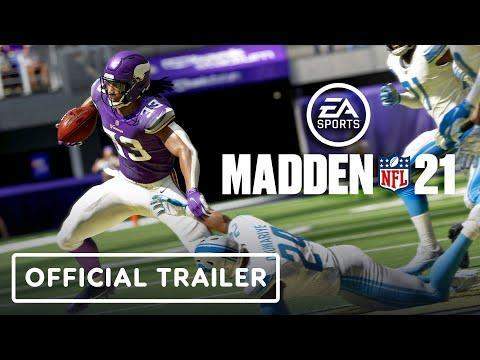 """<p><strong>Xbox Series X Release Date:<em> TBD 2020</em></strong><br><br>This time around, Lamar Jackson is at the helm and there's a swanky cover redesign, but it's still <em>Madden</em>, and we get it every year like clockwork. With <em>21</em>, you won't have to buy it twice if you upgrade consoles, because believe it or not, EA is turning the other cheek and allowing smart delivery onto the Series X.</p><p><a href=""""https://www.youtube.com/watch?v=zfl1VtGtySs"""" rel=""""nofollow noopener"""" target=""""_blank"""" data-ylk=""""slk:See the original post on Youtube"""" class=""""link rapid-noclick-resp"""">See the original post on Youtube</a></p>"""
