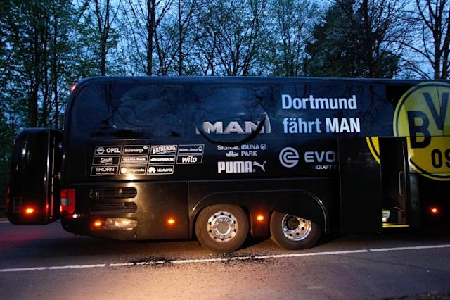 Germany arrests suspect in Dortmund team bus attack: prosecutor