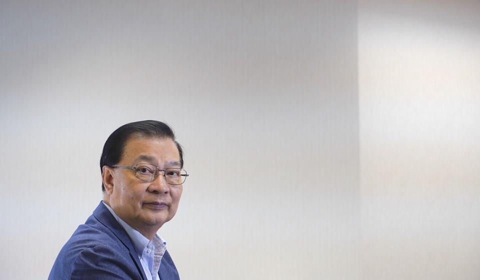 Tam Yiu Chung, Hong Kong's sole representative to the Standing Committee of the National People's Congress. Photo: AP