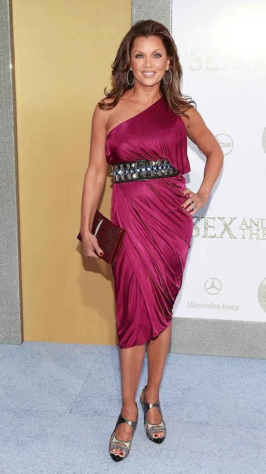"<a href=""http://movies.yahoo.com/movie/contributor/1800018824"">Vanessa Williams</a> at the New York City premiere of <a href=""http://movies.yahoo.com/movie/1810111276/info"">Sex and the City 2</a> - 05/24/2010"