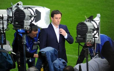 <span>Gary Neville will be part of ITV's coverage of the 2018 World Cup </span> <span>Credit: Sky Sports  </span>