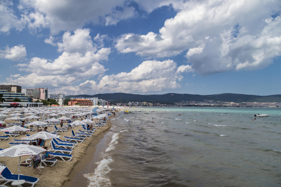Sunny Beach, Bulgaria, is the best value destination. [Photo: Getty]